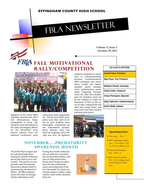 Oct./Nov. Newsletter