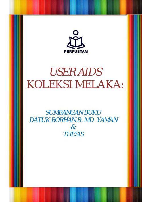 User Aids Koleksi DATUK BORHAN