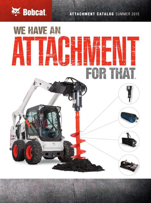 Bobcat Attachment Catalog Part 1