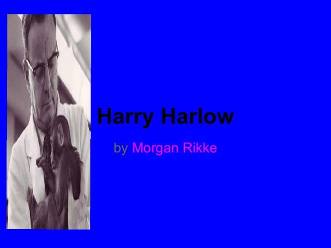 P1 Mrikke Harlow