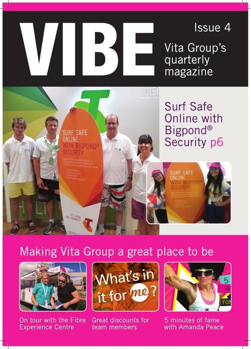 Vibe Mag April 2013