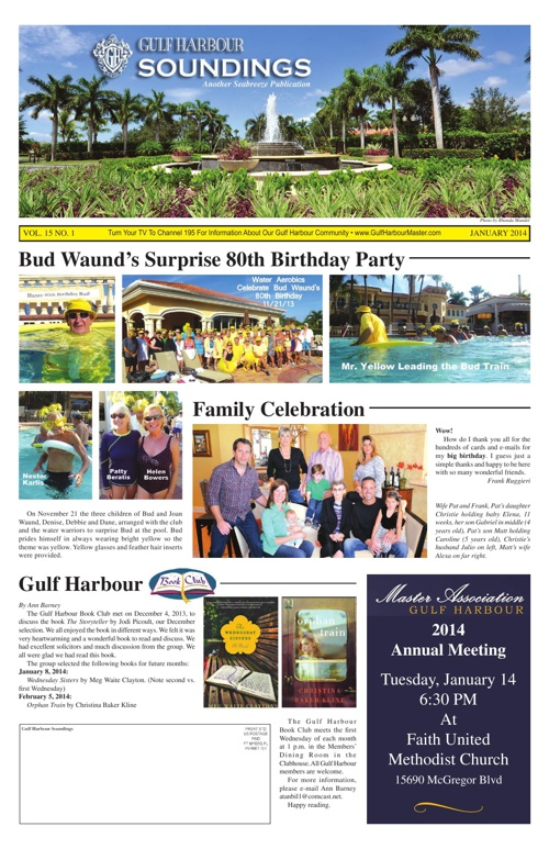January 2014 Edition of The Edition