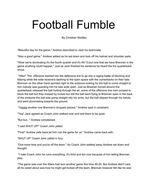 FootballFumble