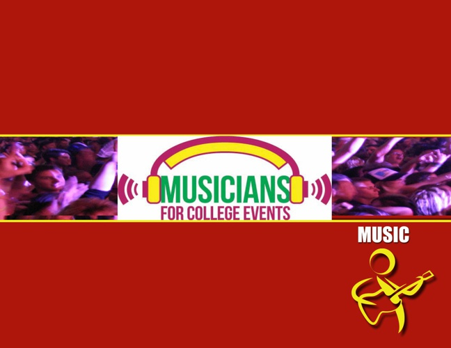 Musicians for College Events Brochure 2012