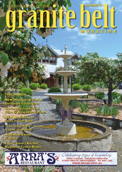 Granite Belt Magazine - November 2015