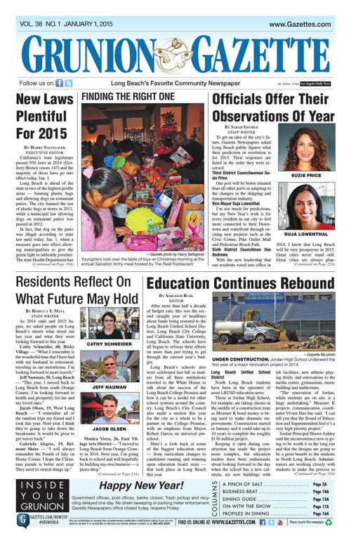 Grunion Gazette | January 1, 2015