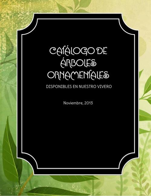 Catálogo de Árboles Ornamentales