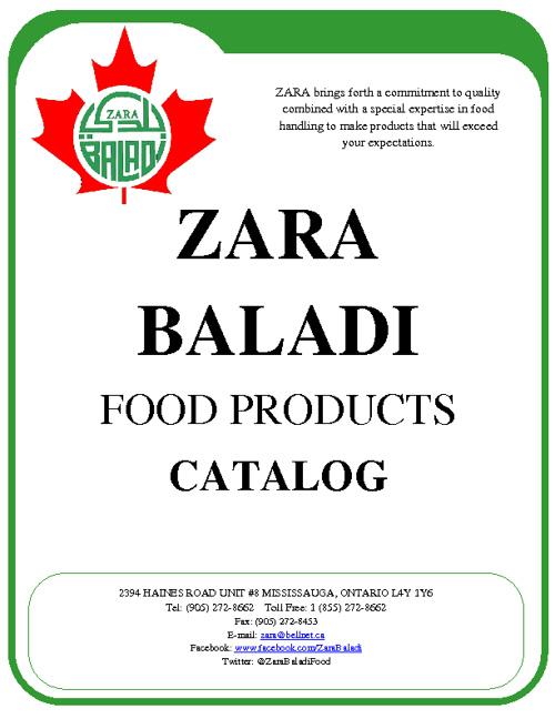 Zara Baladi Catalog