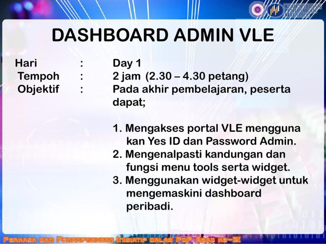 SLOT 4_Overview VLE