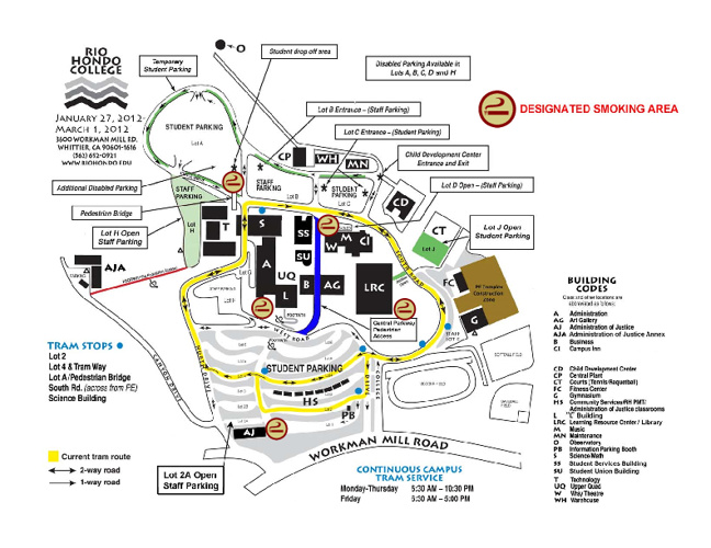 RIO Campus Maps with Links