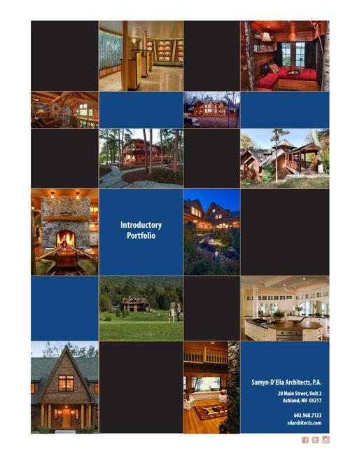 Samyn-D'Elia Architects, Introductory Portfolio