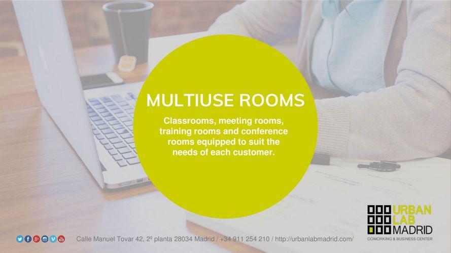 MULTIUSE ROOMS - DOSSIER