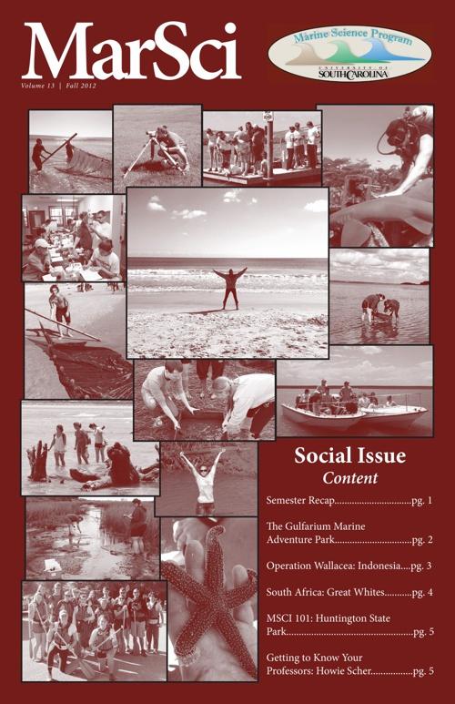 MarSci Fall 2012 Social Issue