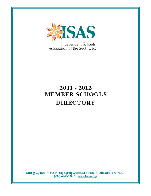 ISAS Member Directory TEST