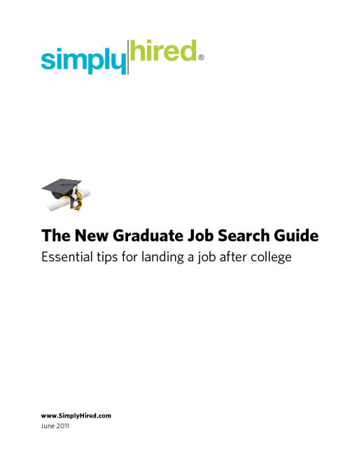 New Grad Job Seeker Guide
