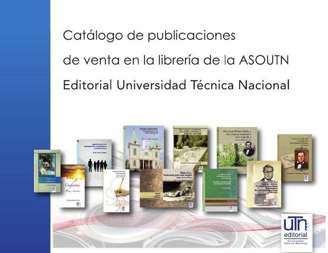 Catalogo de Publicaciones Editorial Universitaria UTN
