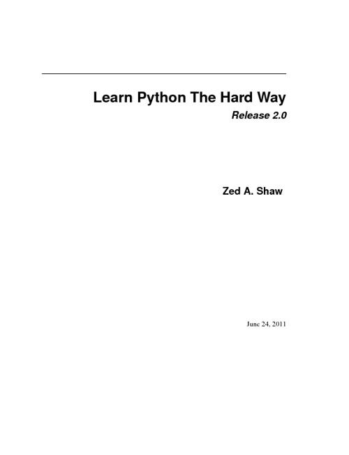 Learn python.!