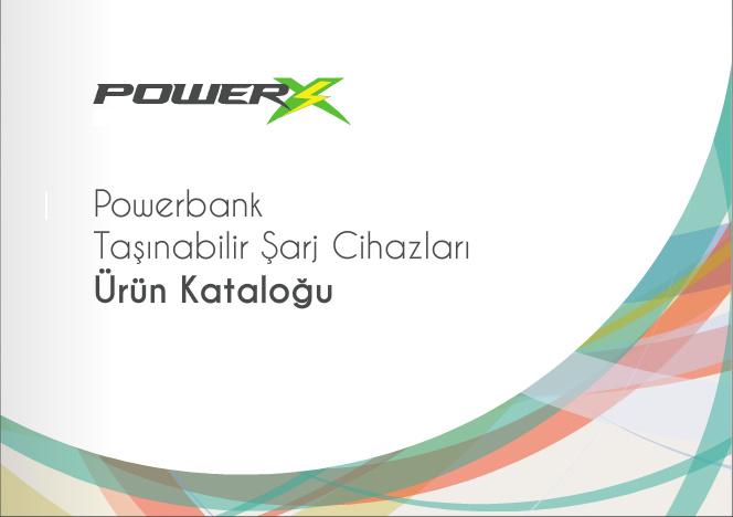 PowerX Powerbank Ürün Kataloğu