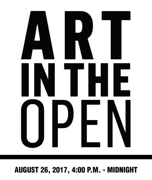 Art in the Open / Art à ciel ouvert 2017