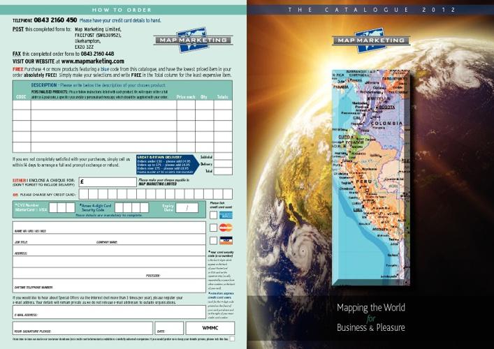 Map Marketing Catalogue