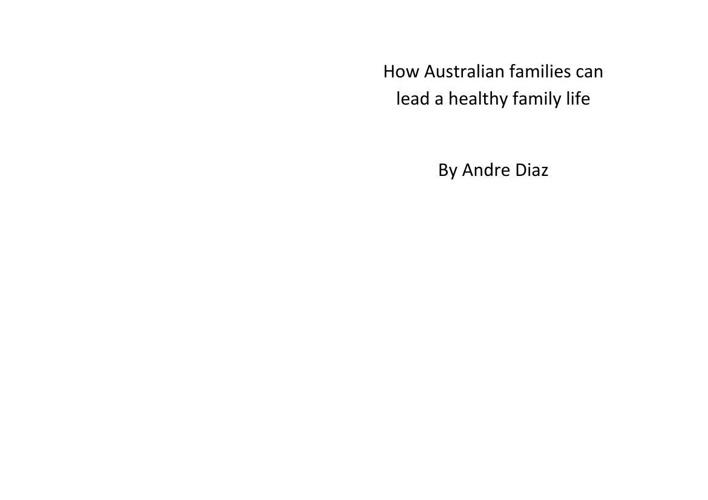 Andre Diaz's EBook Assessment