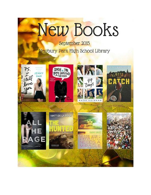 New Books September 2015