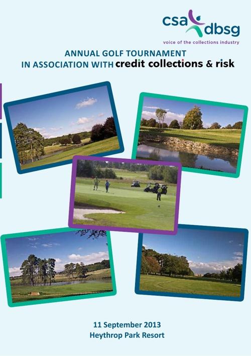 CSA DBSG Annual Golf Tournament 2013