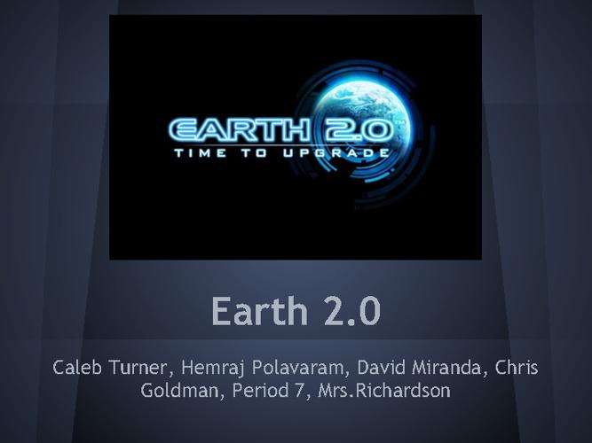 Kepler 22B Earth 2.0