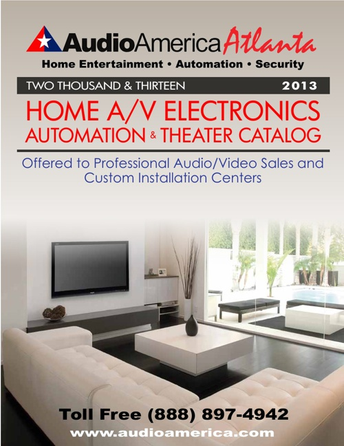Audio America Atlanta home Catalog 2013
