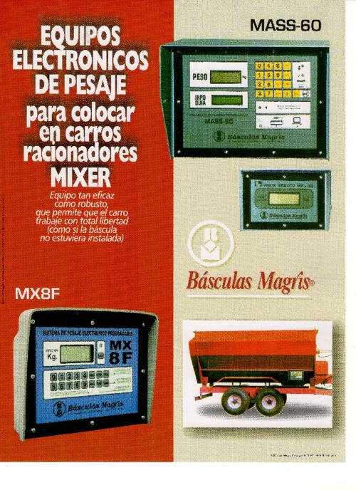 Basculas Magris MASS 60