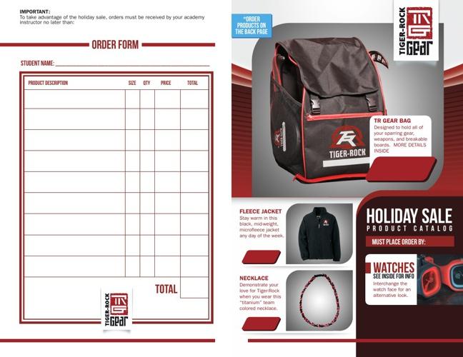 Holiday Sale Product Catalog
