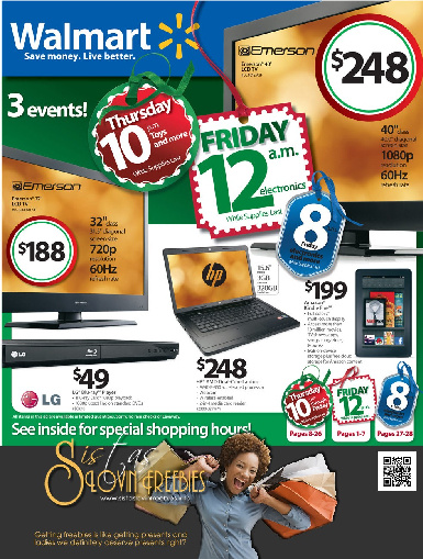 Black Friday: Walmart Ad