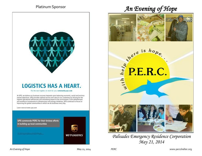 An Evening of Hope - May 21, 2014