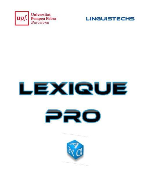 Lexique pro - Français