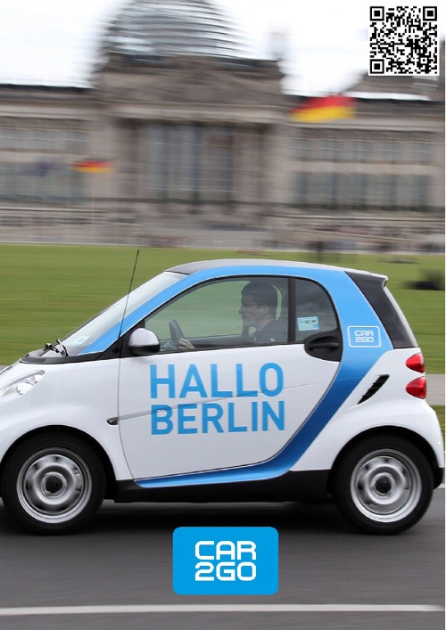 Car2go Berlin - Facebook-timeline