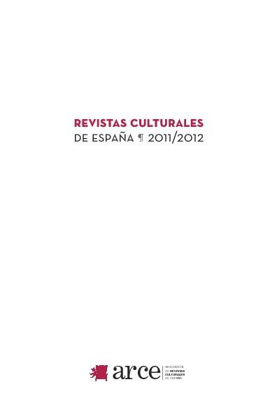 Revistas Culturales de España