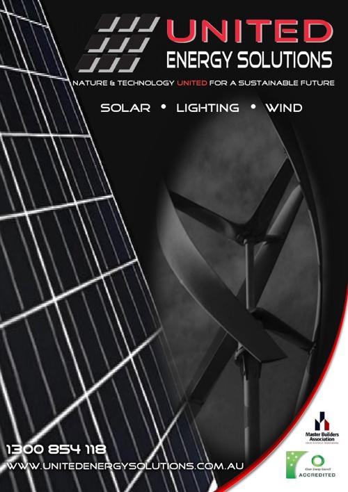 United Energy Solutions Solar Brochure
