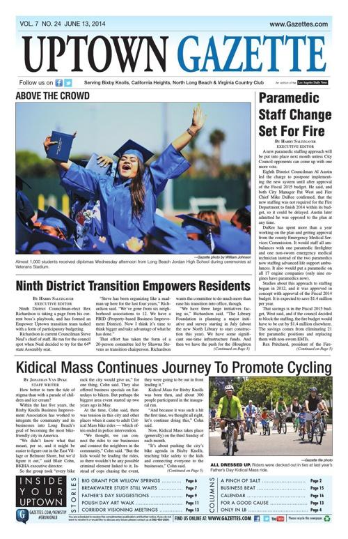 Uptown Gazette 6-13-14