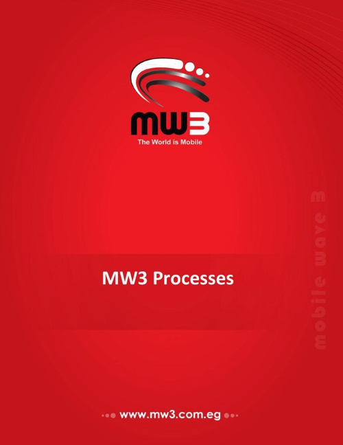 MW3 Macro Processes