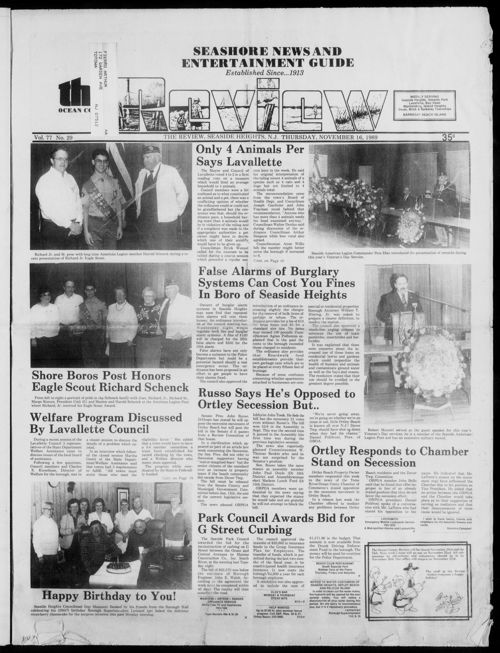 Review November 1989
