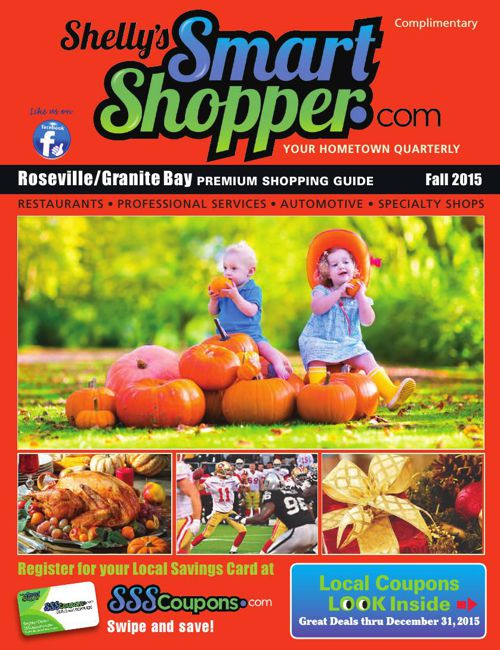 Shelly's Smart Shopper Roseville CA Fall 201 Coupon Magazine