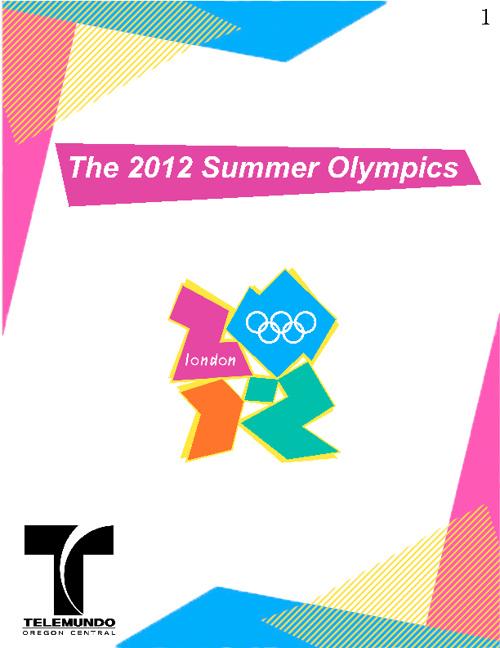 Summer Olympics 2011 Telemundo