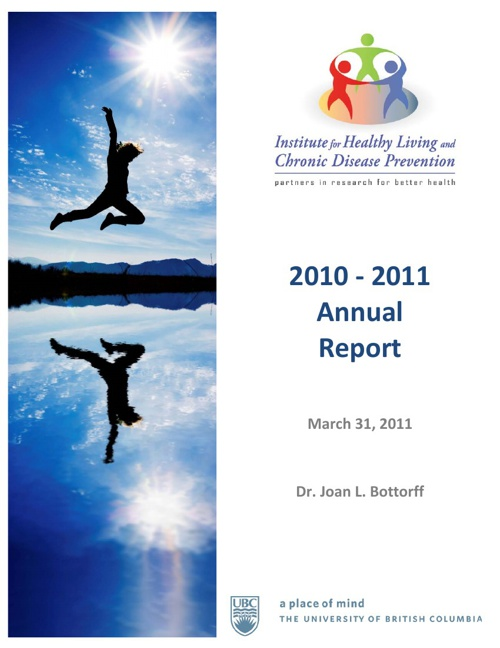 2010 - 2011 IHLCDP Annual Report