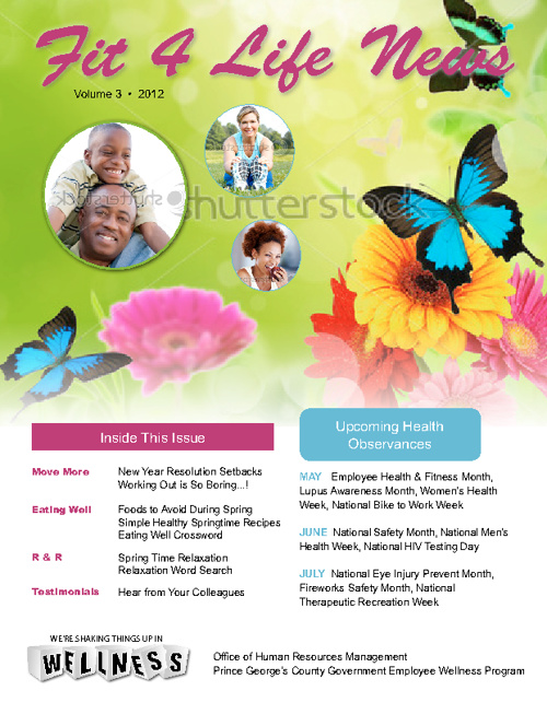 Prince George's County Government Spring Newsletter