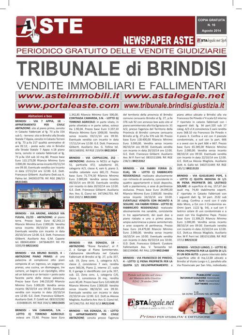 Brindisi agosto 2014