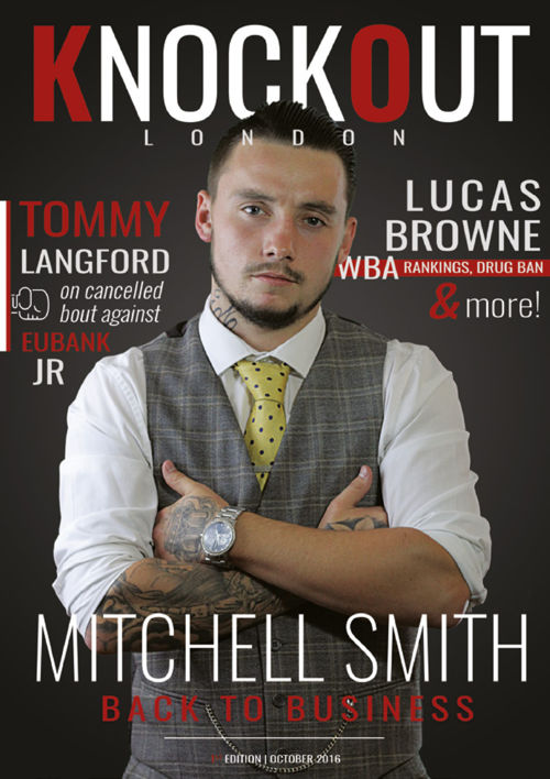 KnockOut London Magazine 1 - Mitchell Smith: Back to Business