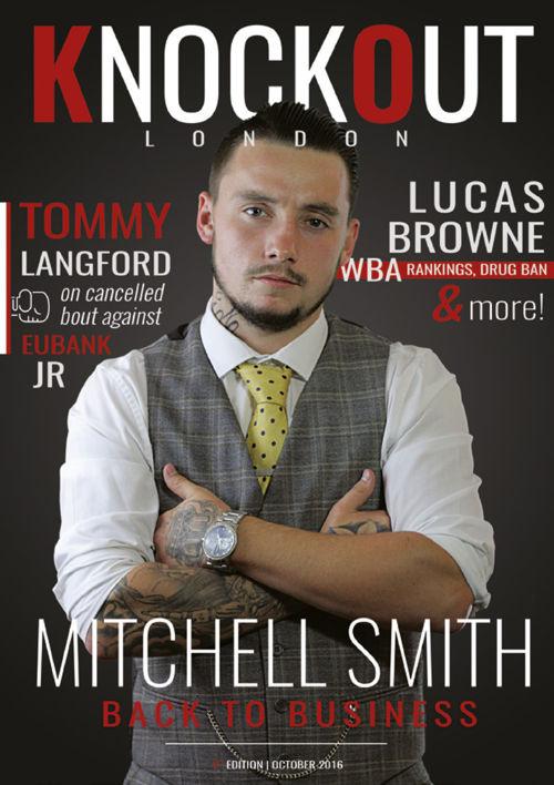 KnockOut London Magazine 1 - Mitchell Smith: Back to Business