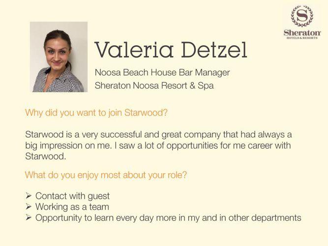 Day in a Life: Valeria Detzel, Noosa Beach Bar Manager