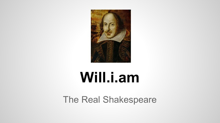 The Real Shakespeare