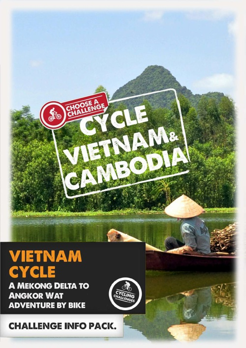 Cycle Vietnam and Cambodia blank